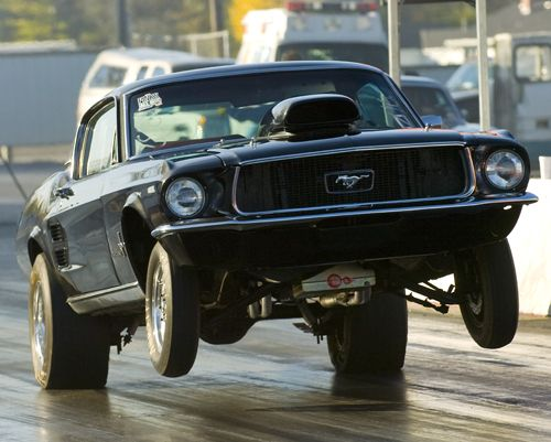 1967 Ford Mustang Fastback 1 4 Mile Drag Racing Ford Mustang