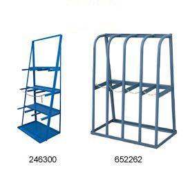 Easy lumber rack workshop pinterest vertical bar for Vertical lumber storage rack