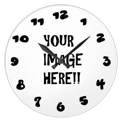Design Your Own Round Large Wall Clock
