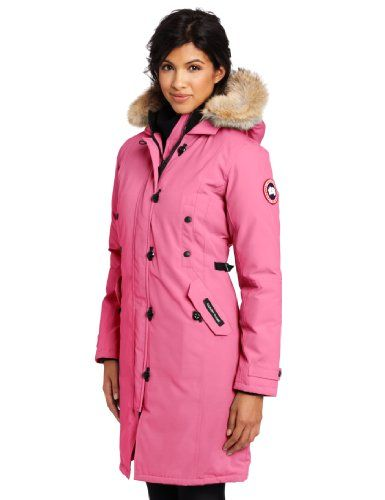 Canada Goose Women's Kensington Parka, Summit Pink, XX-Small ...