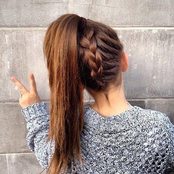 Cute Easy Hairstyles For School 5599Ca  Hair~~~  Pinterest  Tao