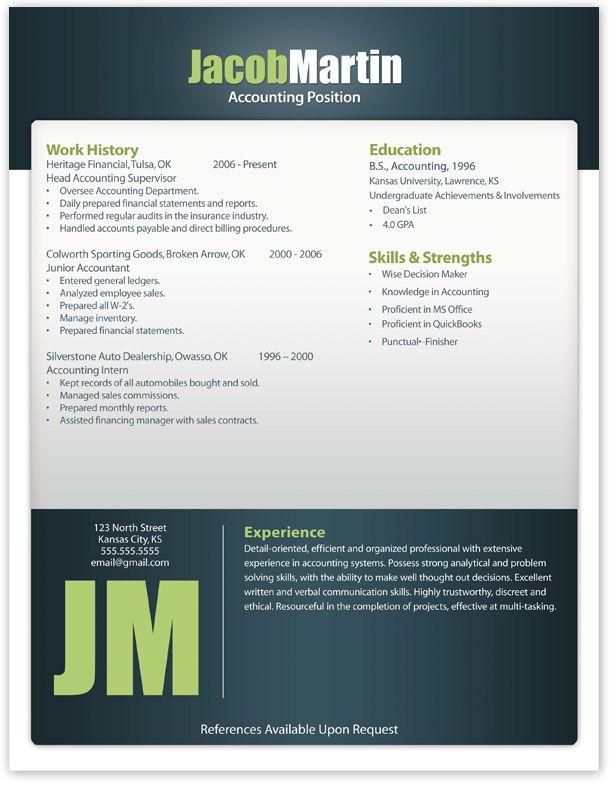 Free Modern Resume Templates -   wwwjobresumewebsite/free - executive resume templates word