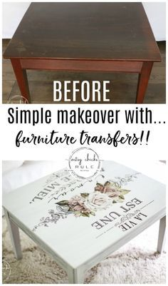 Give your furniture a fun new look with Prima transfers!! They are so easy to apply and look amazing! Come see how! artsychicksrule.com #primatransfers #furnituretransfers #furnituremakeover #frenchdecal #frenchmakeover #chalkpaintedfurniture
