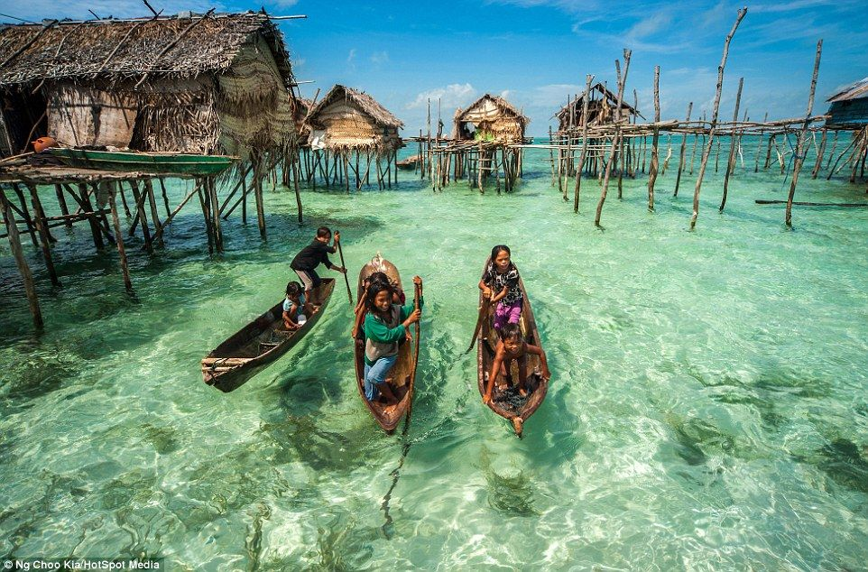 Image result for places where people live on water