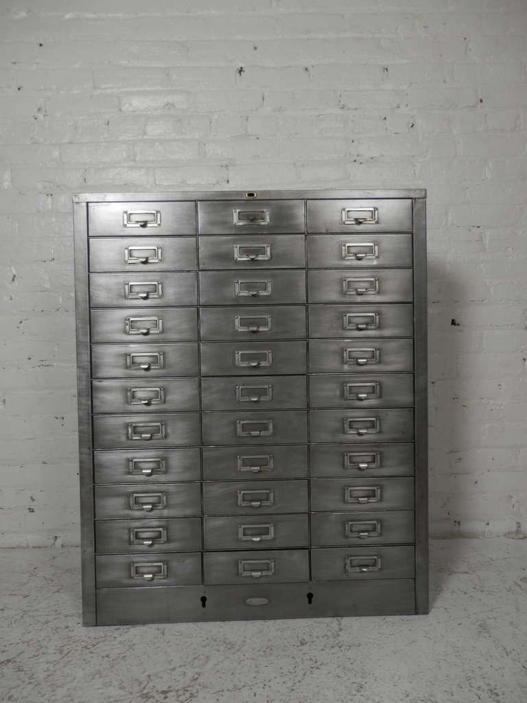 Cole Steel Industrial Metal File Cabinet