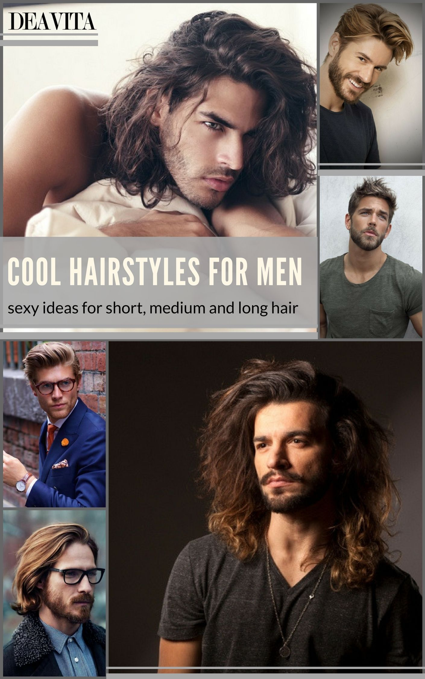 Parts in black men haircuts cool hairstyles for men include a variety of hair length and