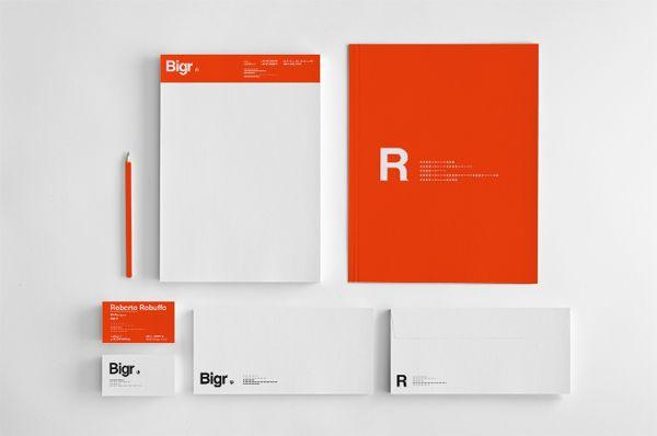 Bigr by Alessandro Risso, via Behance