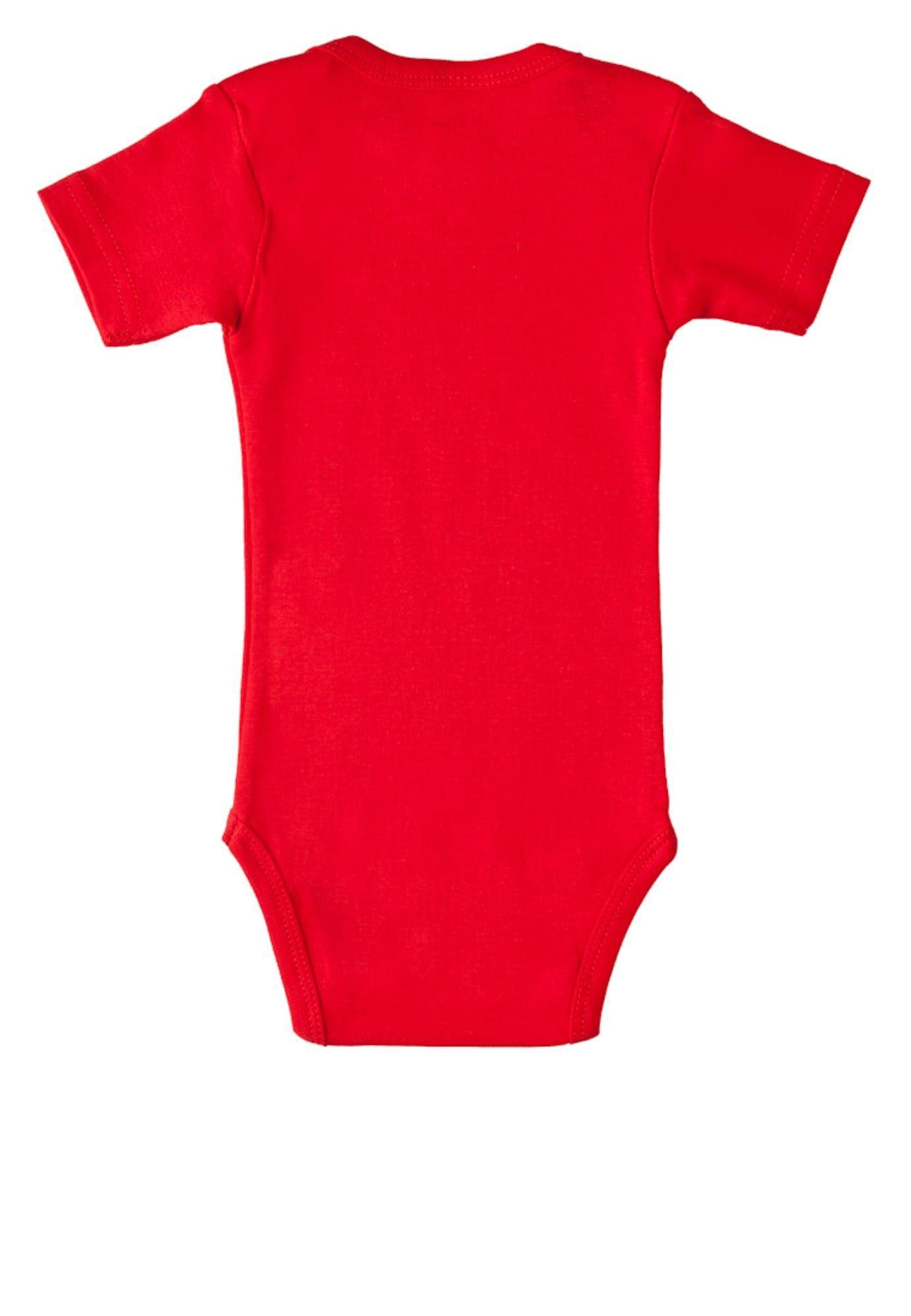 Logoshirt Baby Body Che Guevara Jungen Gelb Rot
