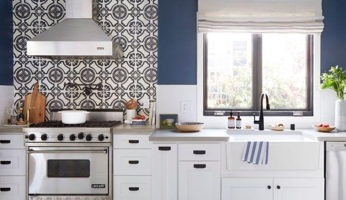▷ 1001 + modèles de cuisine avec carreaux de ciment Pinterest