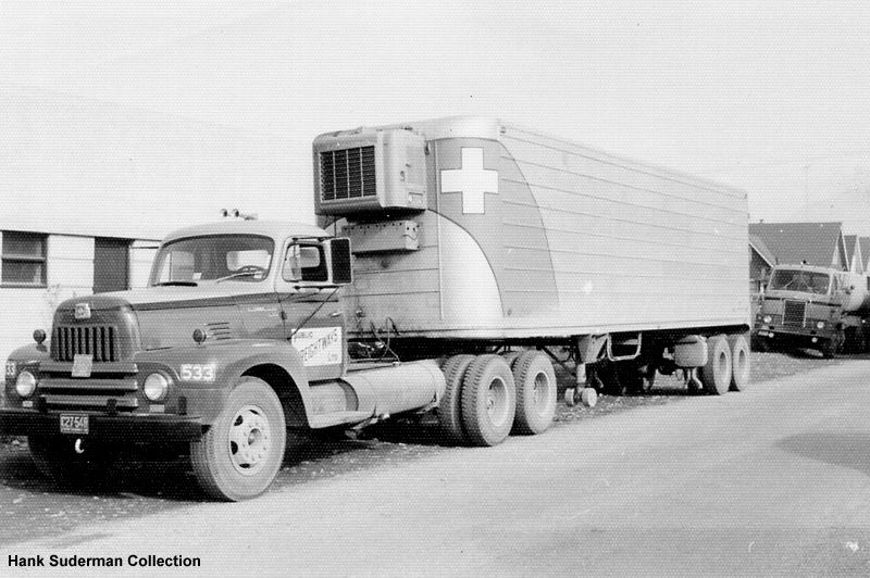 International Tractor Trailer With Images Trucks Big Trucks