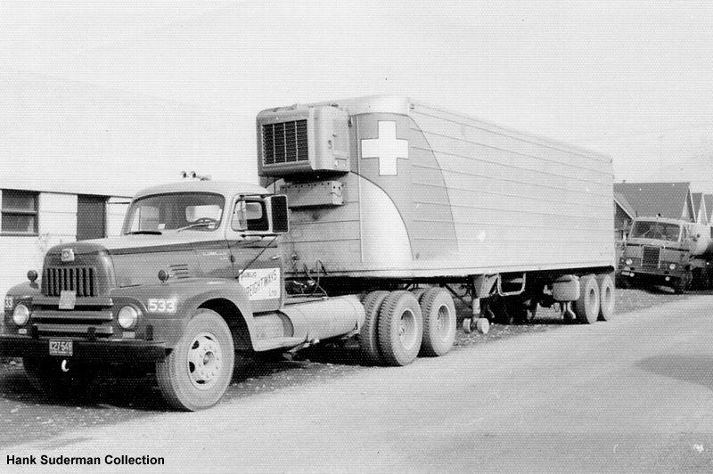 International Harvester Trailers : International tractor trailer vintage semis pinterest