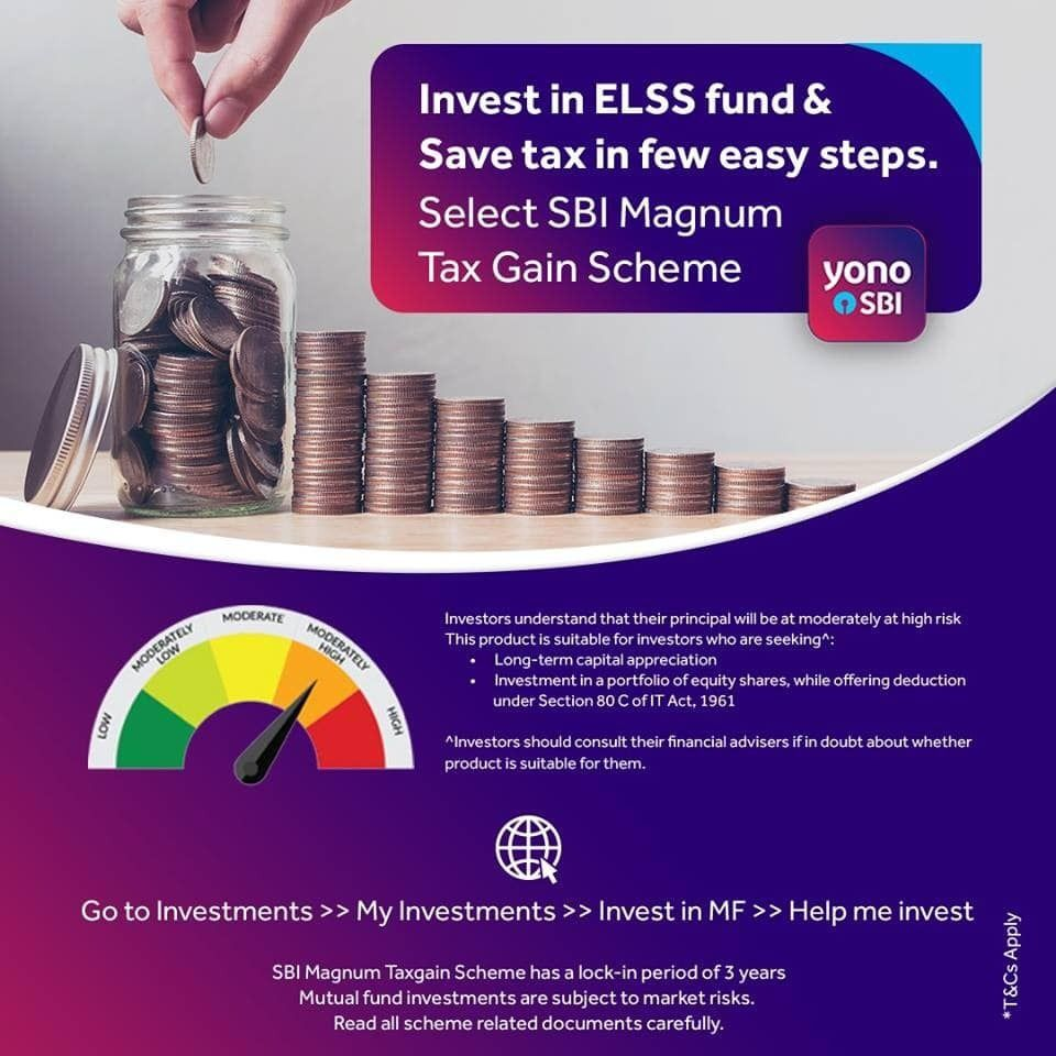 Tax Savings Made Easy On Yonosbi Invest Hassle Free In Elss Of Sbi Mutual Fund Just In Fe Real Estate Investing Books Investment Quotes Real Estate Investing
