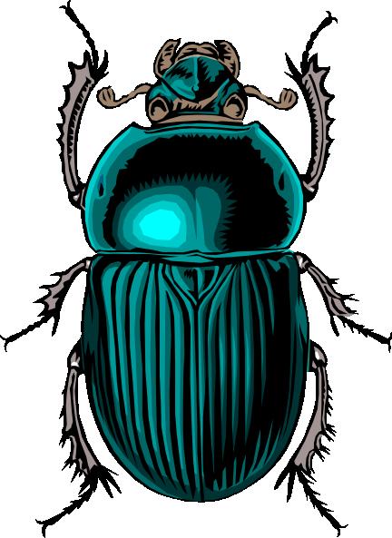 Scarab Beetle Clip Art at vector clip art