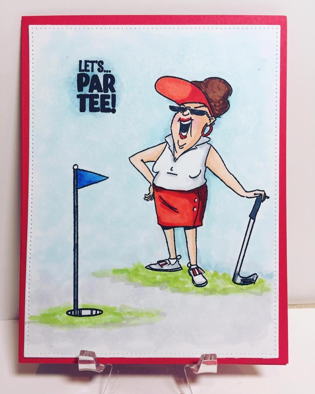 Selecting The Right Golf Club Golf Pro Tips Art Impressions Happy Birthday Card Funny Golf Humor