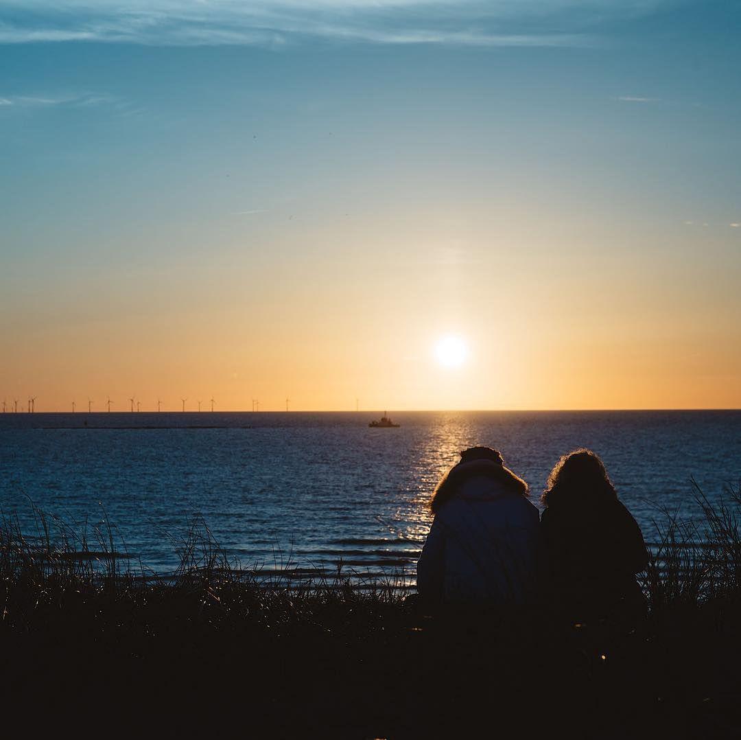 Strand nordsee sonnenuntergang  sonnenuntergang #gutenacht #holland #egmondaanzee #nordsee #strand ...