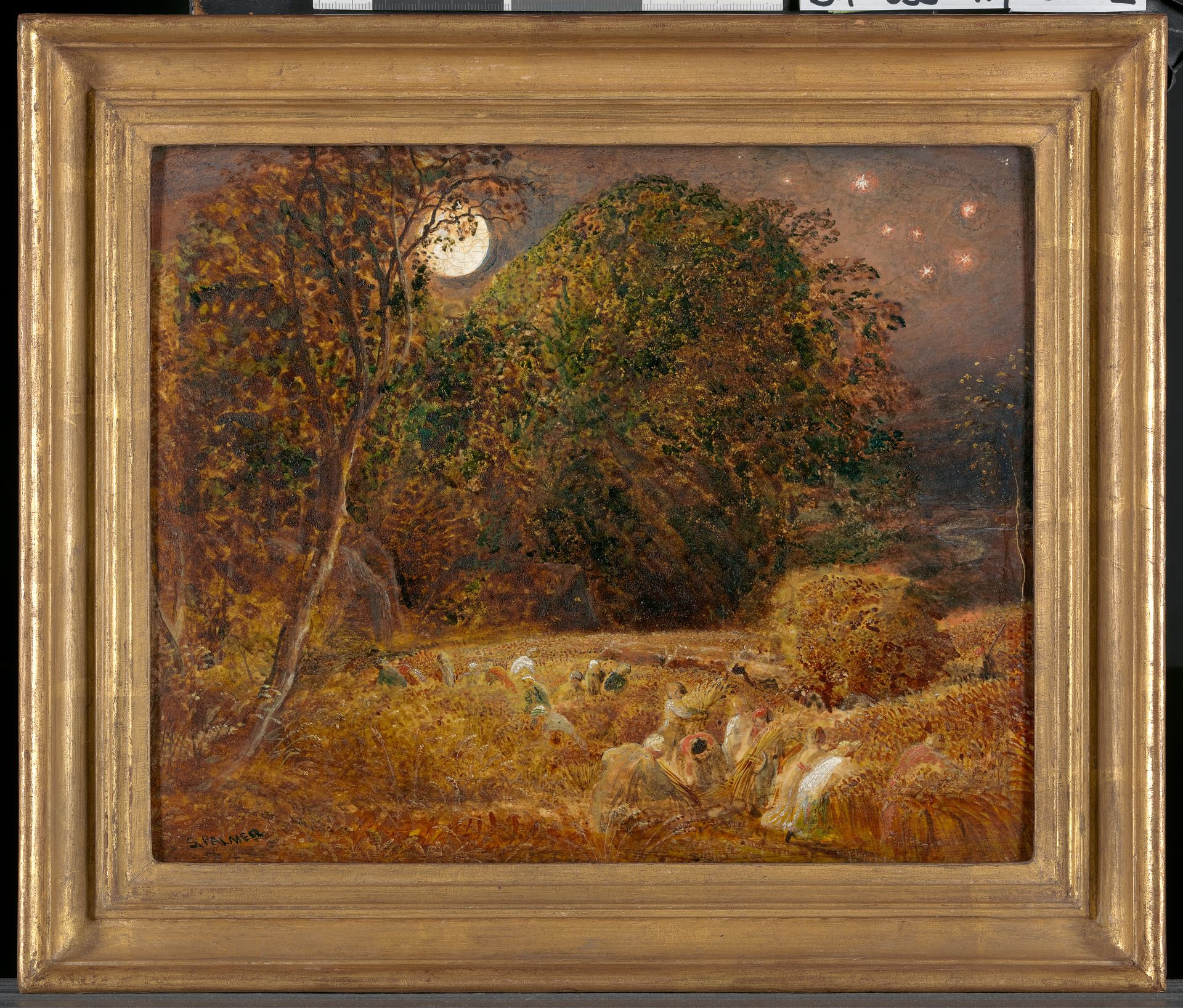 Samuel Palmer 1805 1881 British Active In Italy 1837 39 The