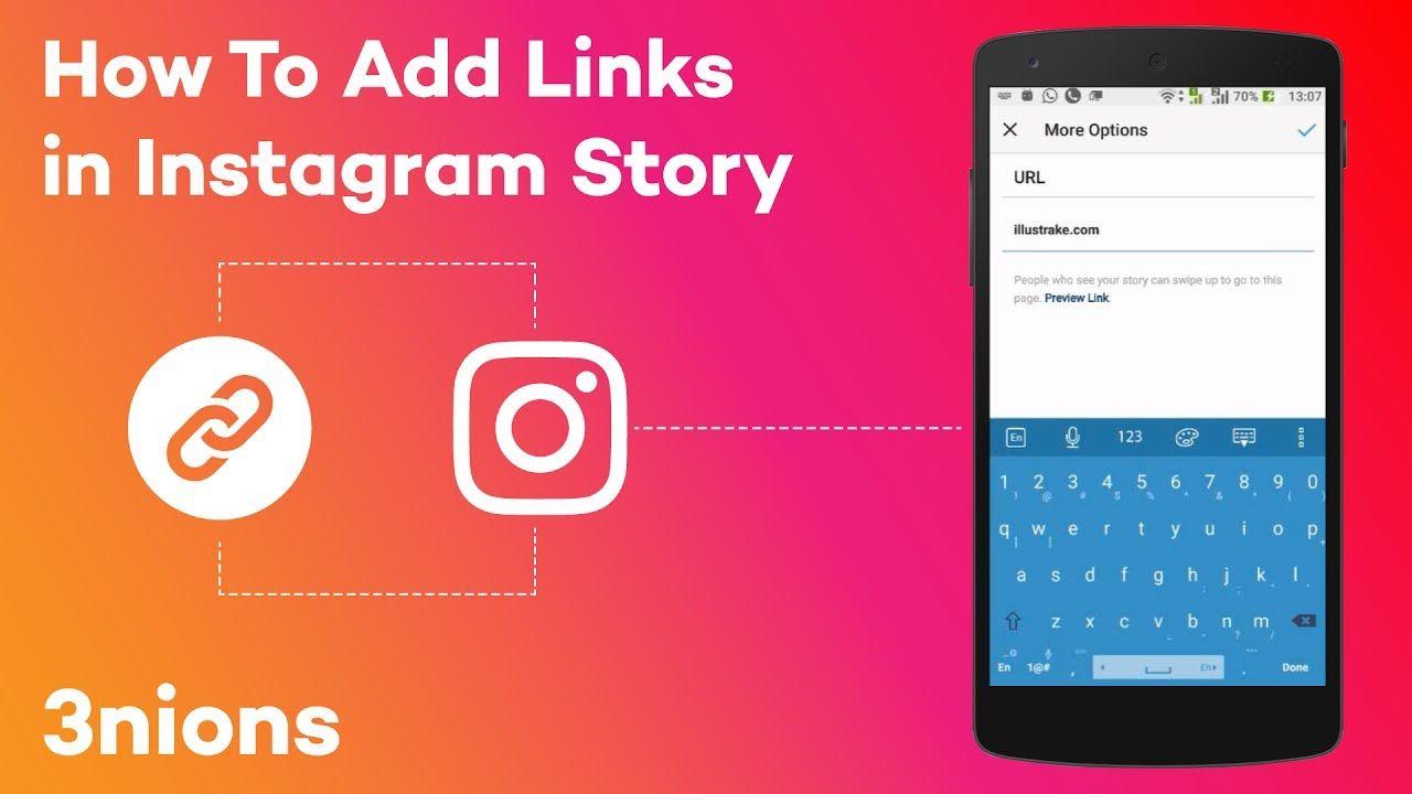 How To Add Swipe Up Link In Instagram Story Without 10k Followers Instagram Story Instagram Story