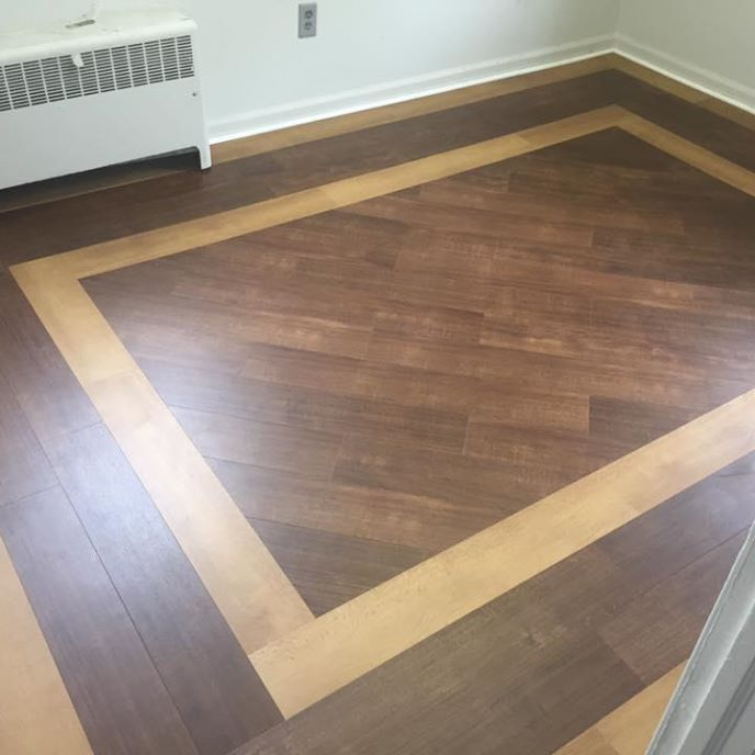 Croft Corners Fire House Prosource Wholesale We Removed The Existing Glue Down Carpet And Installe Wood Floor Design Vinyl Wood Flooring Floor Tile Design