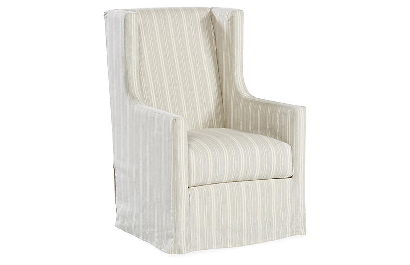 Best Nicole Swivel Chair Gray White In 2019 White Leather 400 x 300