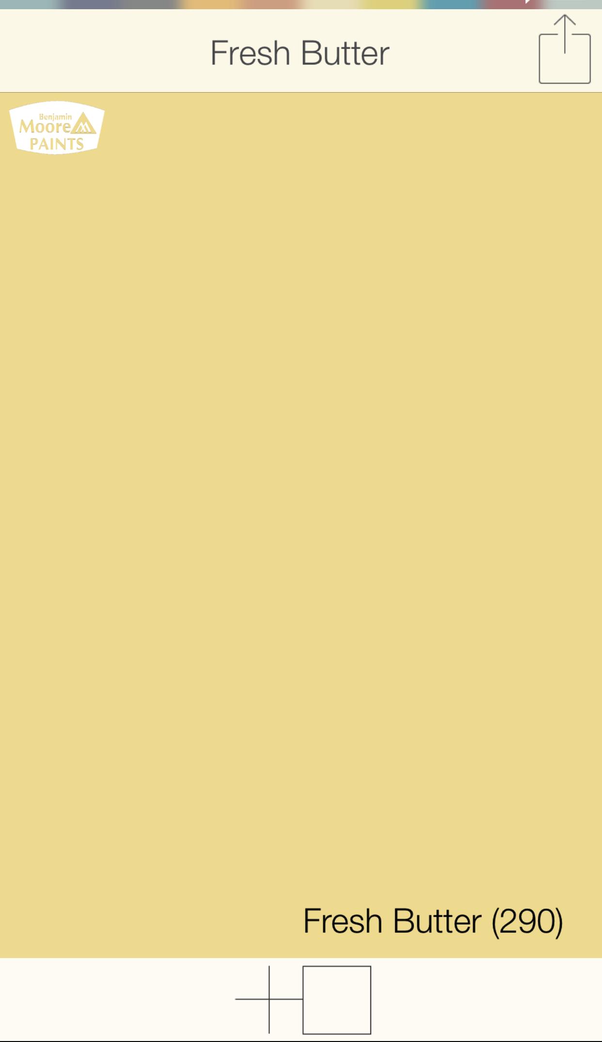 Yellow Front Door Colors Fresh Butter 290 Benjamin Moore Paints Swatchdeck App Use The
