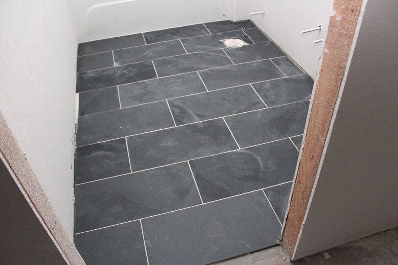 12 X 24 Quot Montauk Black Slate Tiles Floors Pinterest