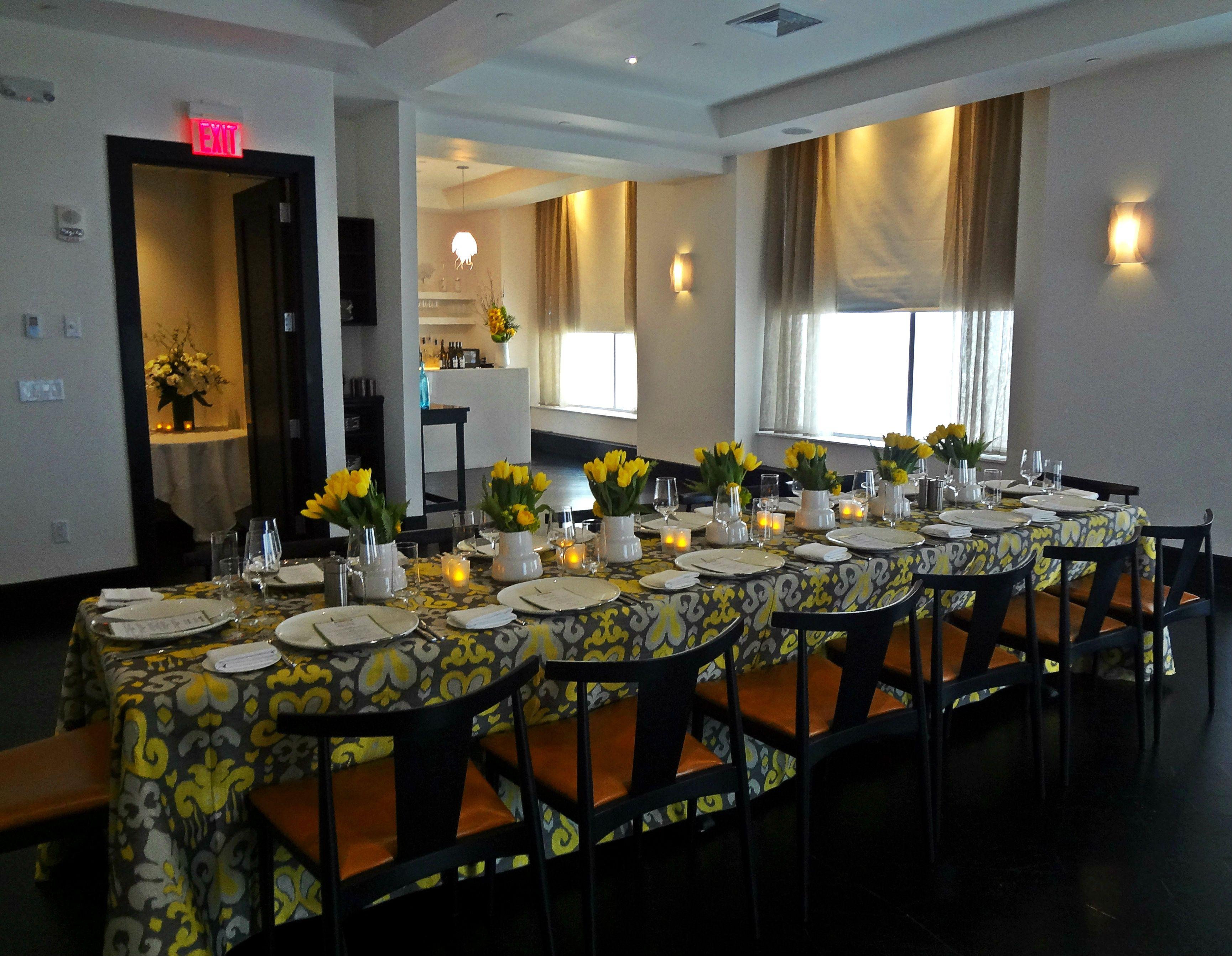 Ostra Boston Private Dining Room