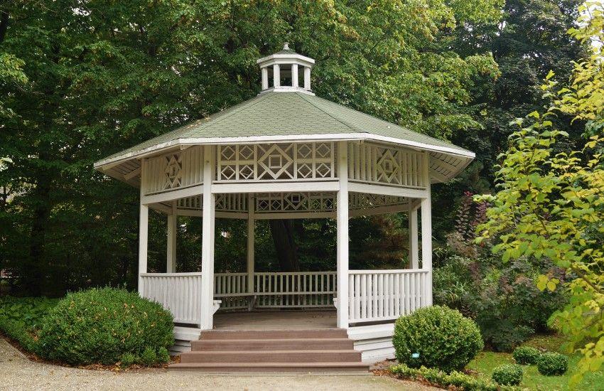 30 Outdoor Garden Gazebos Kiosks Pergolas Pavilion Ideas