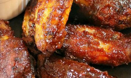 Slow Cooker Barbecued Chicken Wings | Magic Skillet