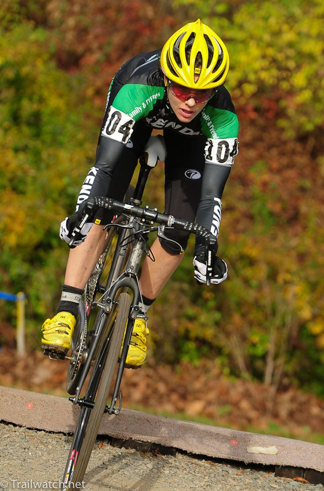 Mary McConneloug at the 2012 CycleSmart International
