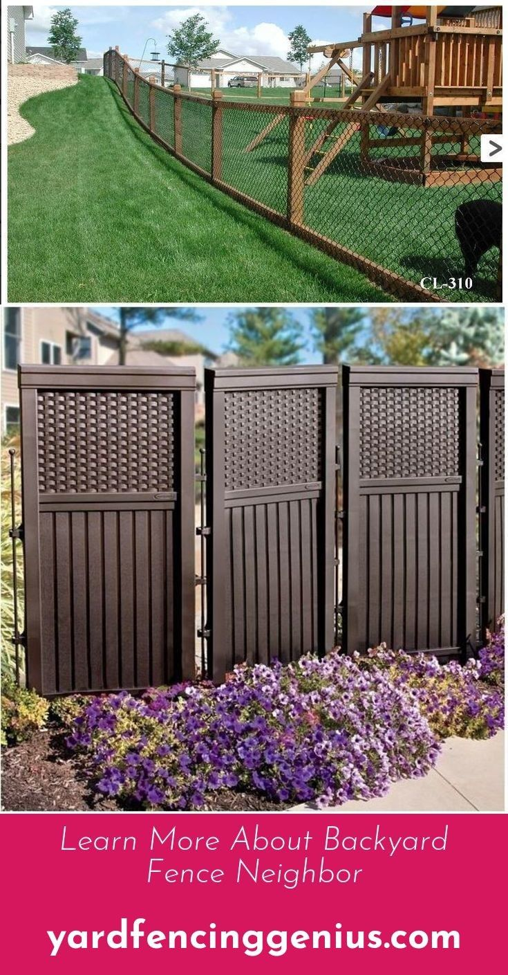 Go To The Website To Read More On Backyard Fence Options
