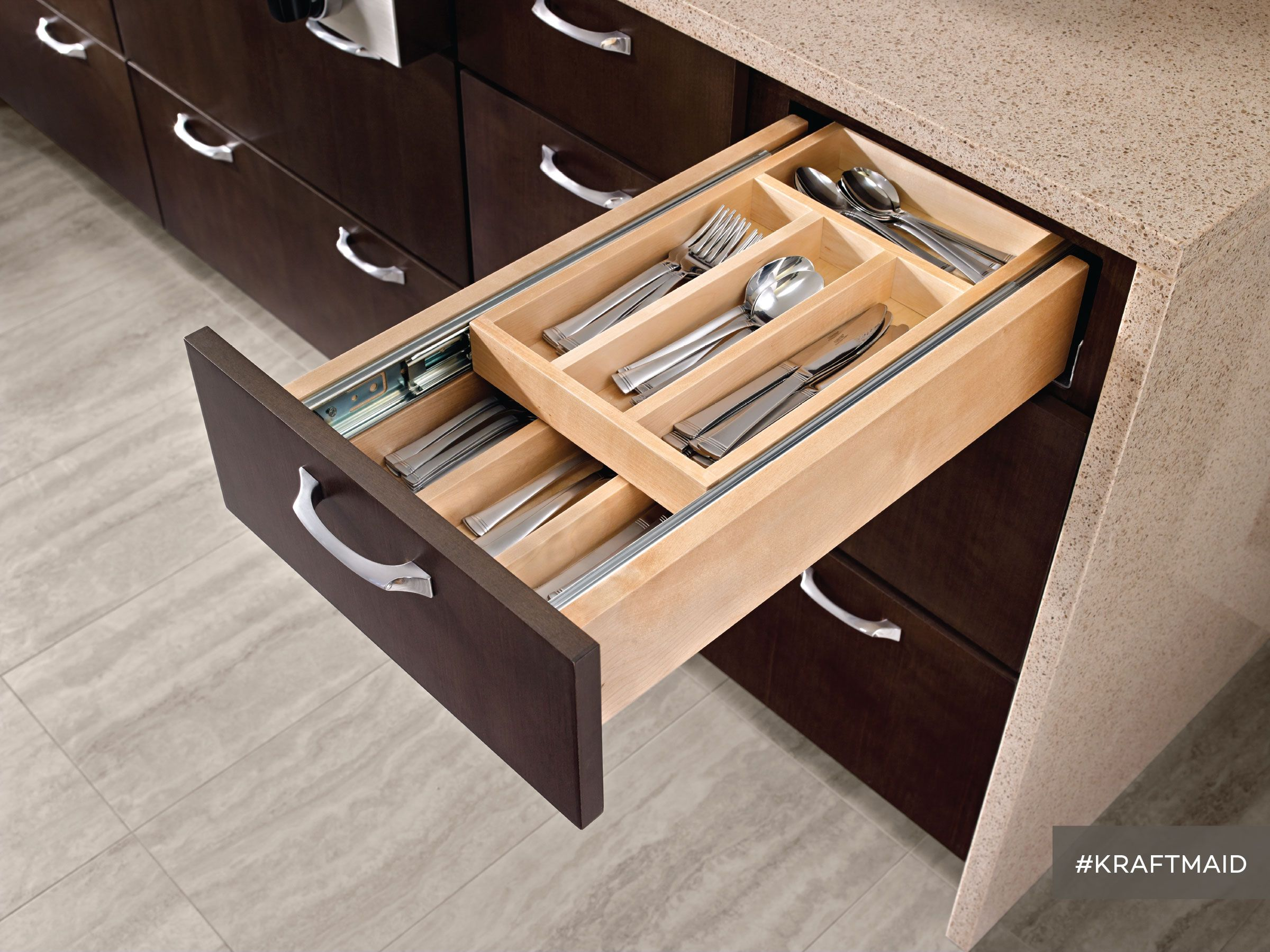 Wood Tiered Drawer Storage Kit In 2019