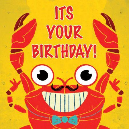 Adam Pryce Birthday Crab With Images Happy Birthday