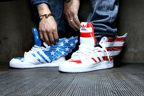 B.O.B.'s shoes. Swag.