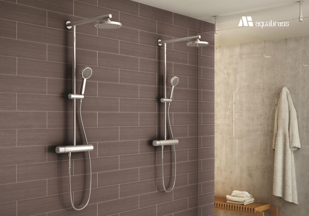 Aquabrass Tekno Showers #Aquabrass #Tekno #Shower