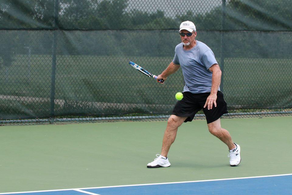 Tennis at ShowMe State Games Senior Games Columbia, MO