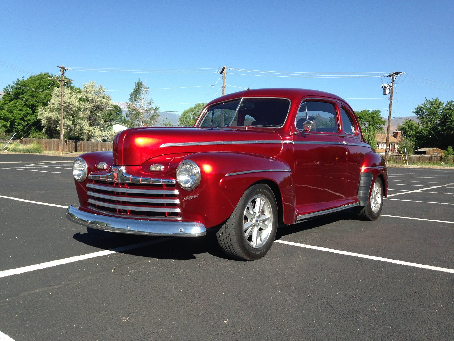 1946 Ford Coupe For Sale 53264 Mcg Ford Classic Cars Car