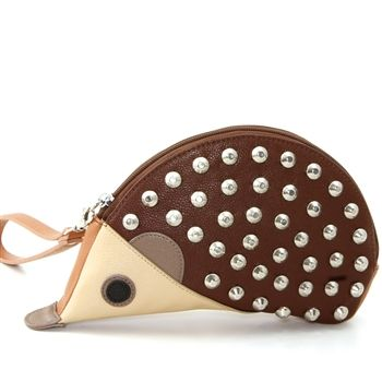 WonderMolly.com Vinyl Hedgehog Wrislet with Studded Exterior