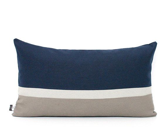 Navy Blue Pillow Cover Navy And Grey Dark Blue Cushion Cover Color