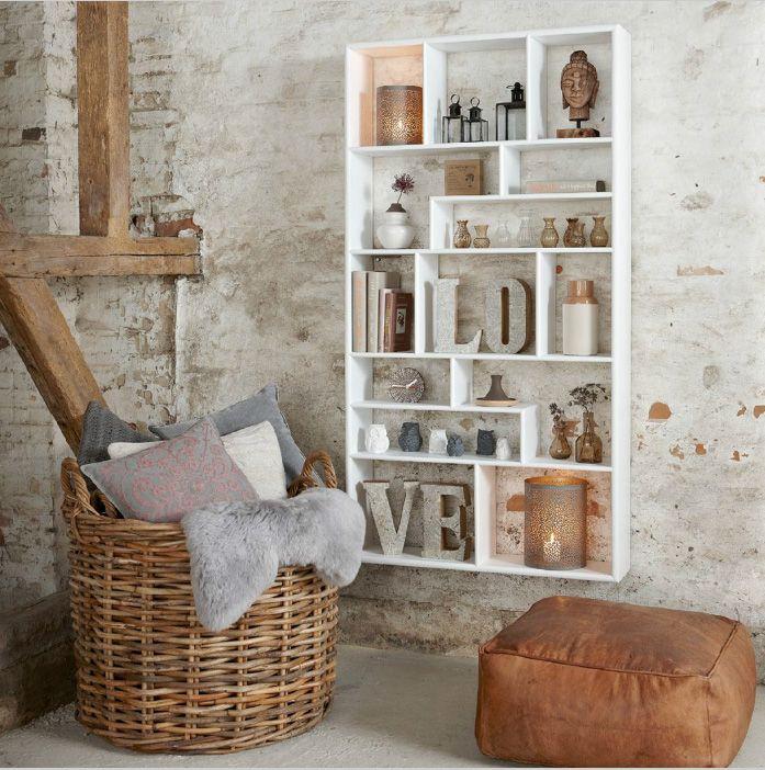 Tendance : la décoration façon rustique chic | Pinterest | Rustique ...