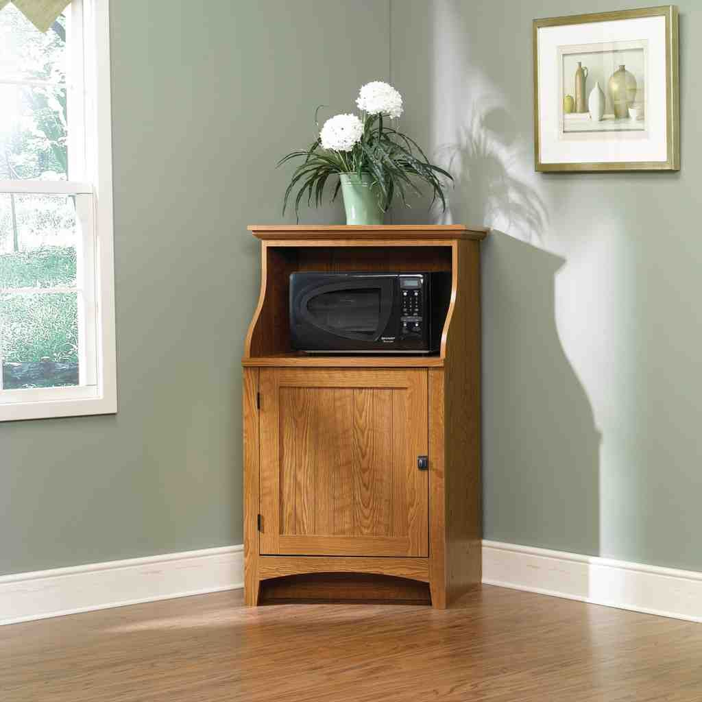 Microwave Tables Cabinets