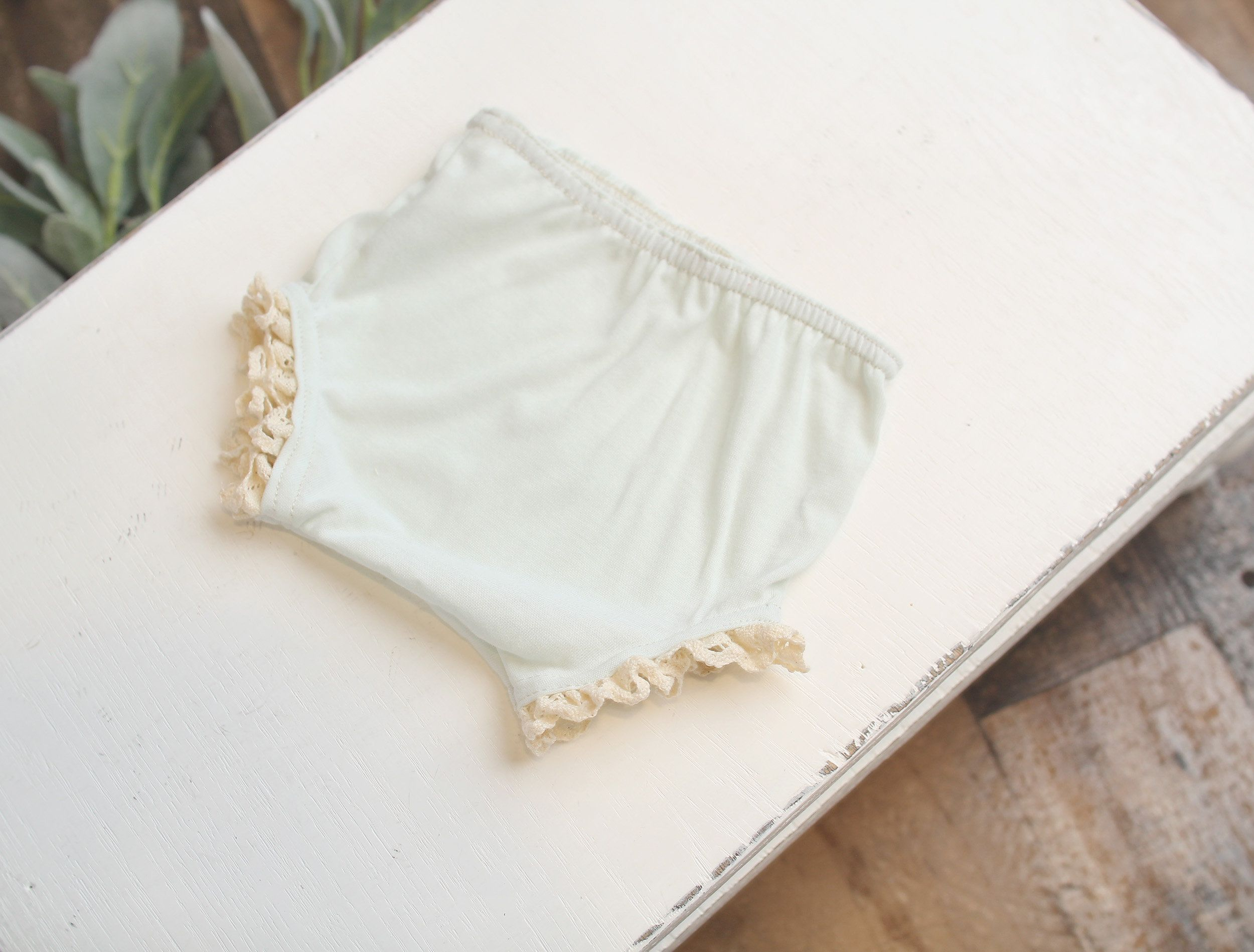 BLOOMERS antique ivory or pure white bottoms custom