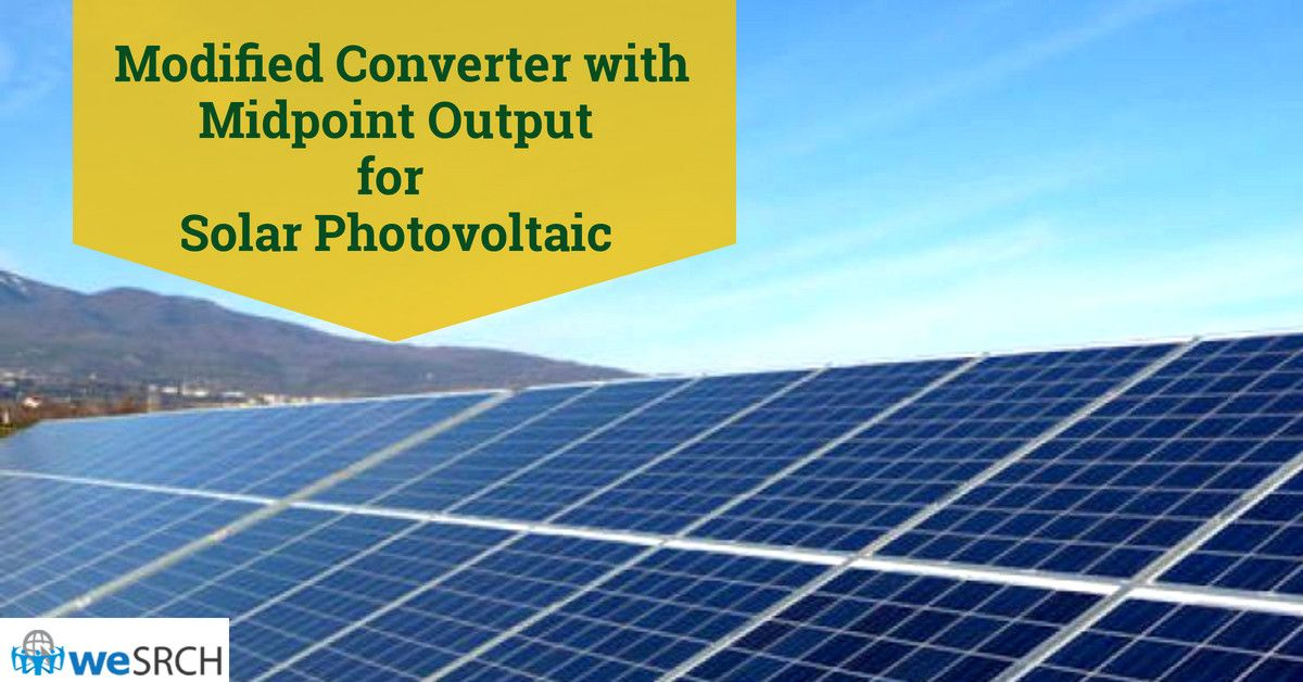 Modified Converter with Midpoint Output for Solar
