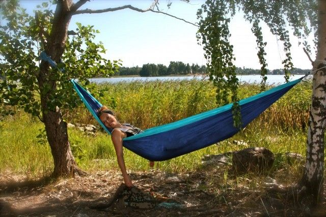 Review Hammock Ticket To The Moon In Finnish