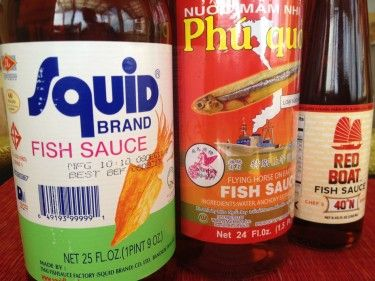 Fish Sauce in a bloody/clamato mary...I think yes! (I just repinned because my husband likes fish sauce!)