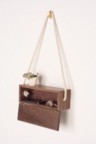 Walnut Rope Box