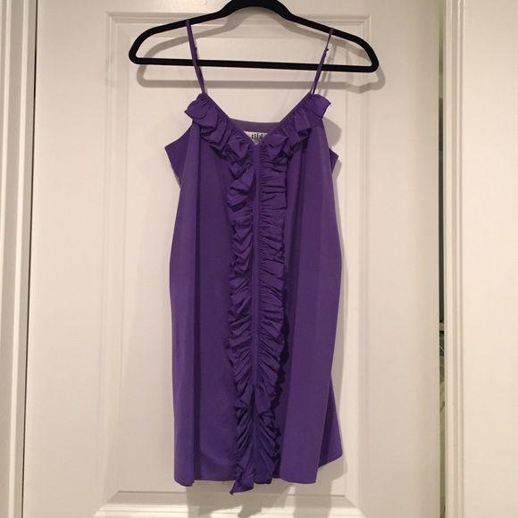 Purple Tibi dress Size 6 but fits like a 4. Great condition. Only worn a few times. Tibi Dresses Mini
