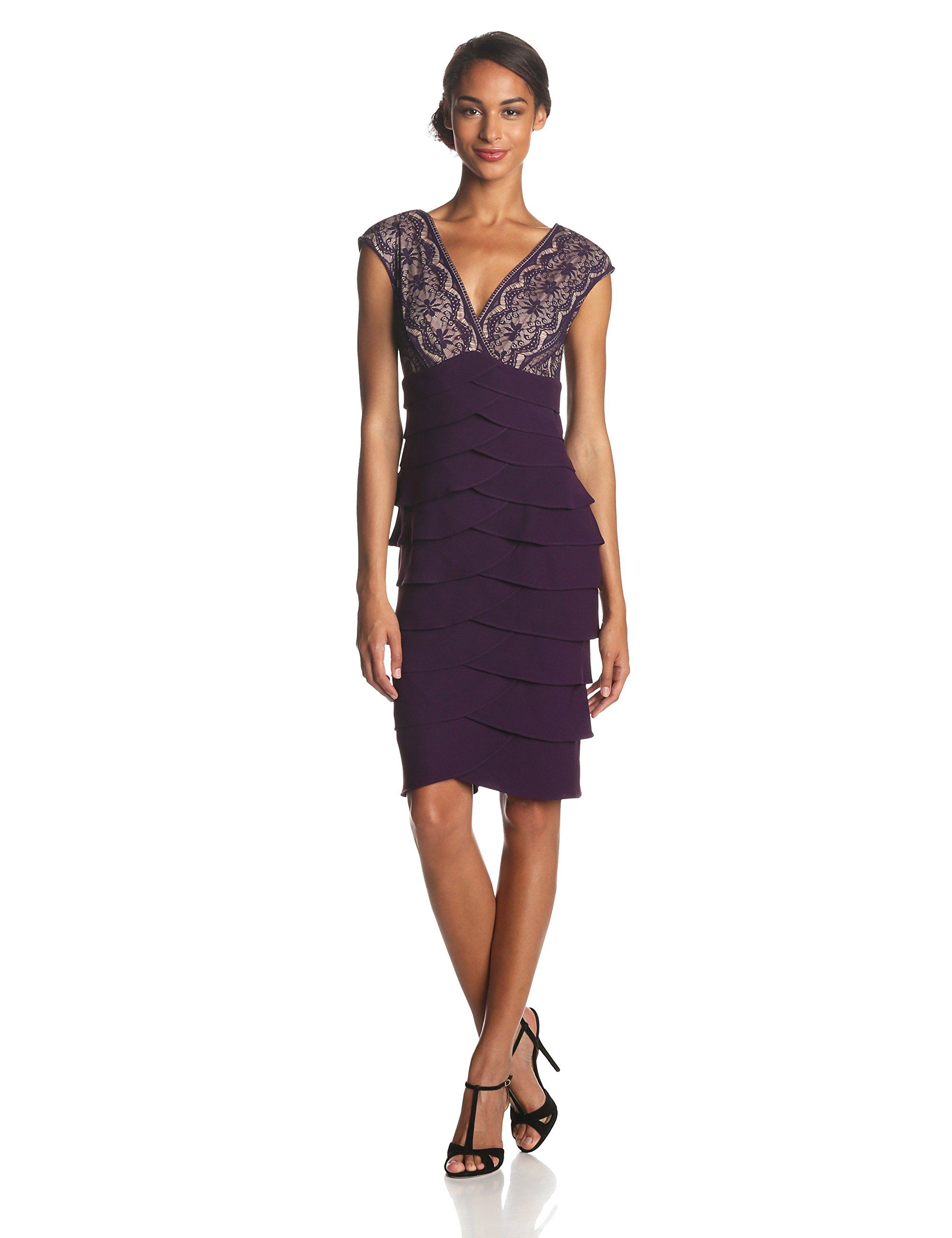 f9226fa0982d Jessica Howard Women's Extended Shoulder Surplus Artichoke Skirt Dress at  Amazon Women's Clothing store: