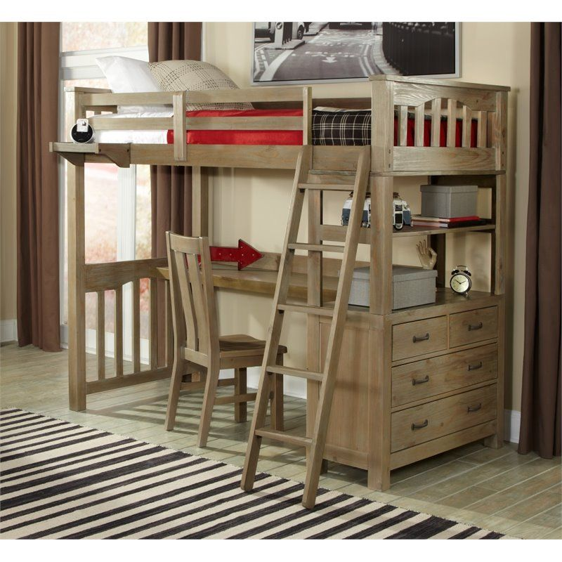 Ne Kids Highlands Bunk Bed 1 375 00 Twin Loft Bed Kids Loft Beds Twin Size Loft Bed