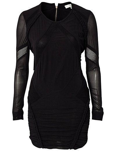 Kenton Woven Dress - Iro - Sort - Kjoler - Tøj - Kvinde - Nelly.com