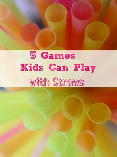 5 Fun Kids Party Games To Play With Straws Birthday Party Games For Kids Fun Kids Party Games Kids Party Games